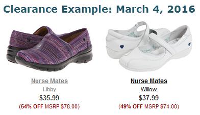 7f016af7e329 Nurse Mates Shoes Clearance Deals   July 2019